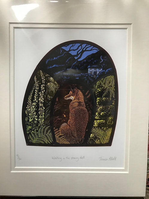 "Tamsin Abbott ""Waiting in the starry Dell"" limited edition print"