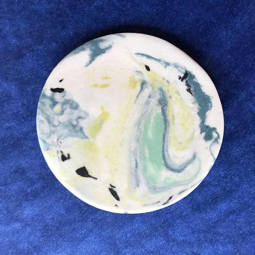 Meryl Till porcelain brooch