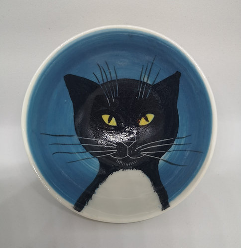 Carey Moon mini porcelain cat bowl