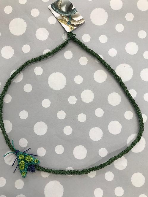Jo Dewar moth necklace