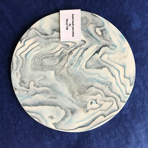 Meryl Till porcelain pot stand/coaster