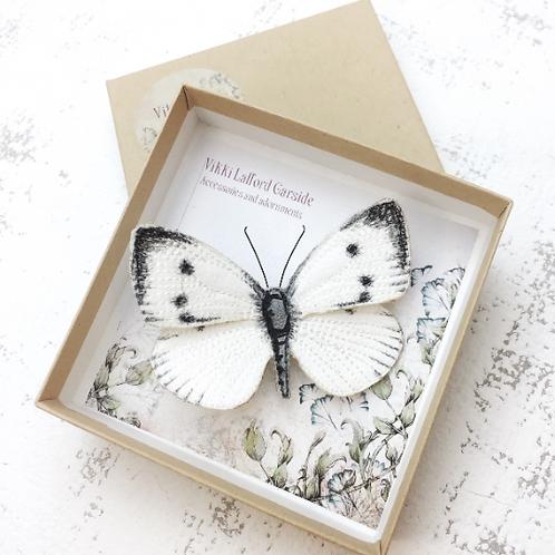 Vikki Lafford Garside Cabbage White Butterfly