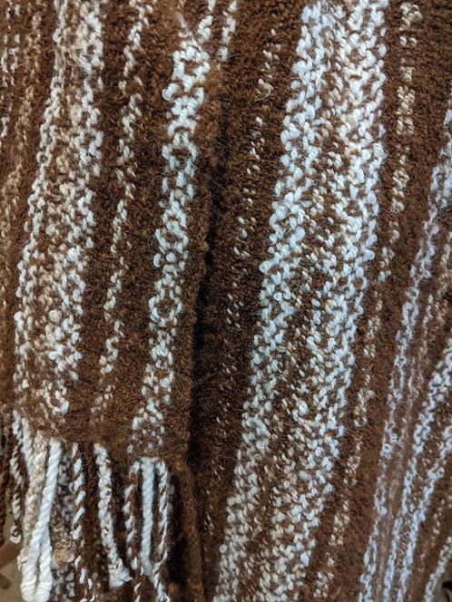 Jane Stockley alpaca twill shawl