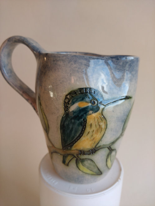 Jeanne Jackson Kingfisher jug (no. 23)