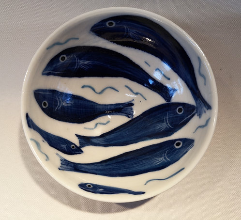 Carey Moon porcelain mini fish dish 4