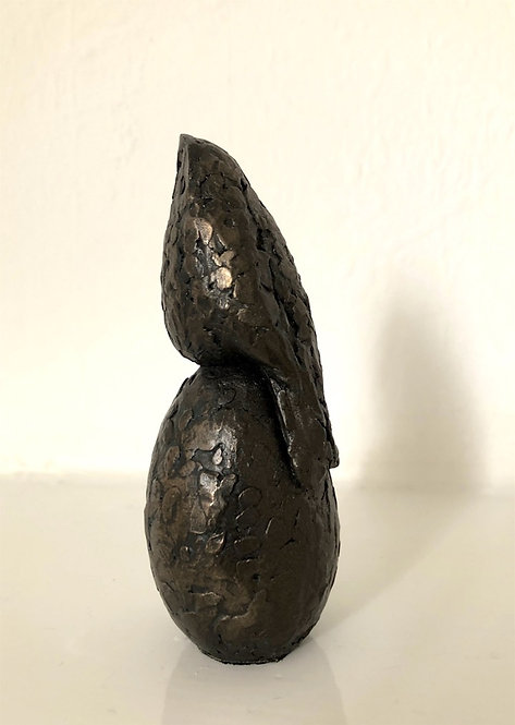 Caro Burberry bronze resin 'Morning Glory'
