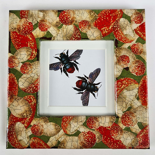 Jo Verity decoupage picture frame