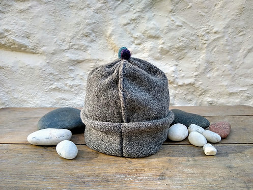 """Corinne Carr lambswool hat """" Flannel"""""""