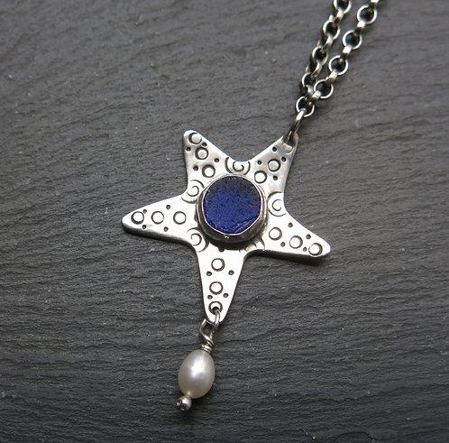 Amanda Rawling seagrass starfish necklace
