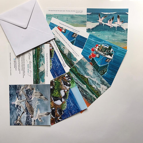 Marie Therese King Coastal 2 card pack