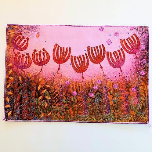Angie Hughes 'Purple Haze' embroidery