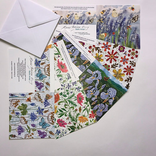 Marie Therese King Floral cards