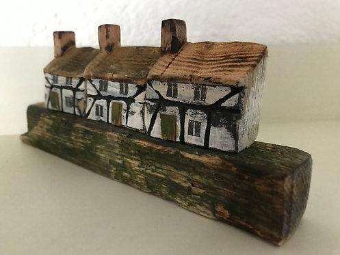 Stephen Hawkesworth driftwood Tudor Cottage (3)