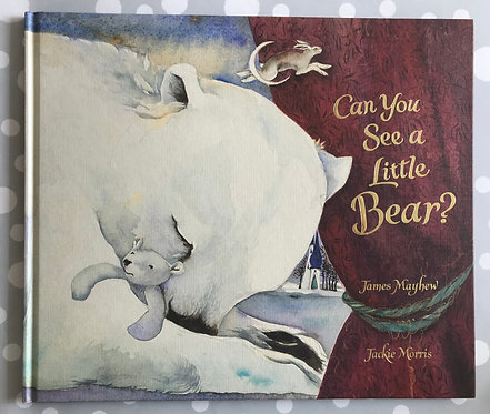 Jackie Morris 'Can You See a Little Bear?'