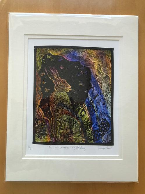 "Tamsin Abbott limited edition print""Interconnectedness"