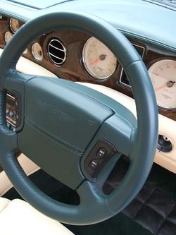 Worn Steering Wheel