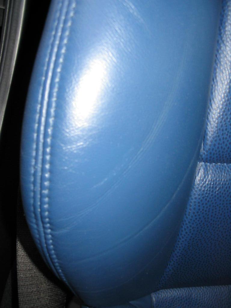 Worn Seat