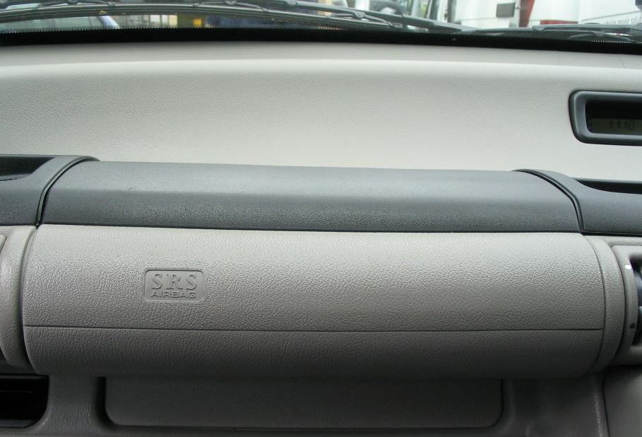 Damaged Dashboard
