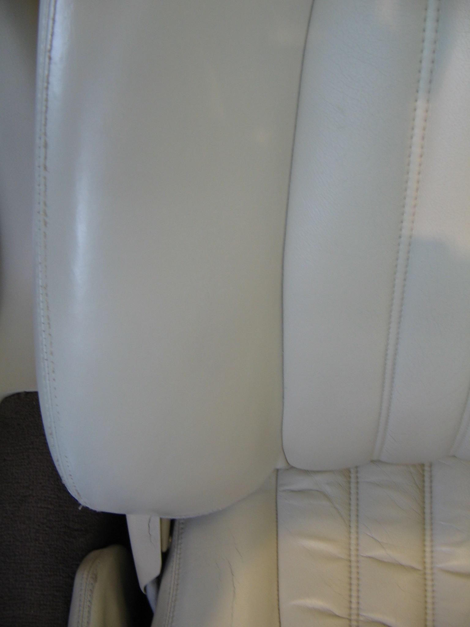 Worn Driver's Seat