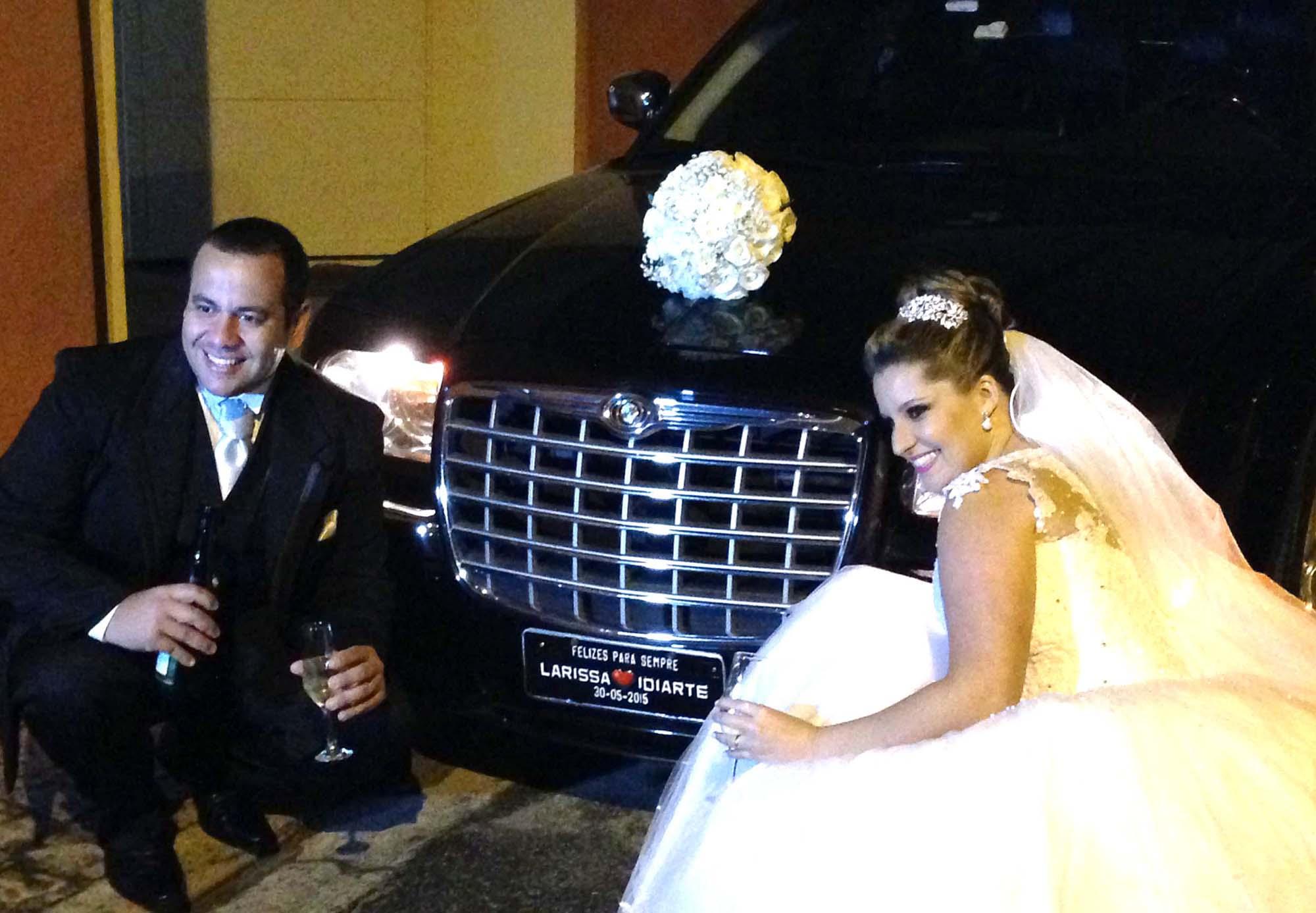 Felicidades Larissa e Idiarte