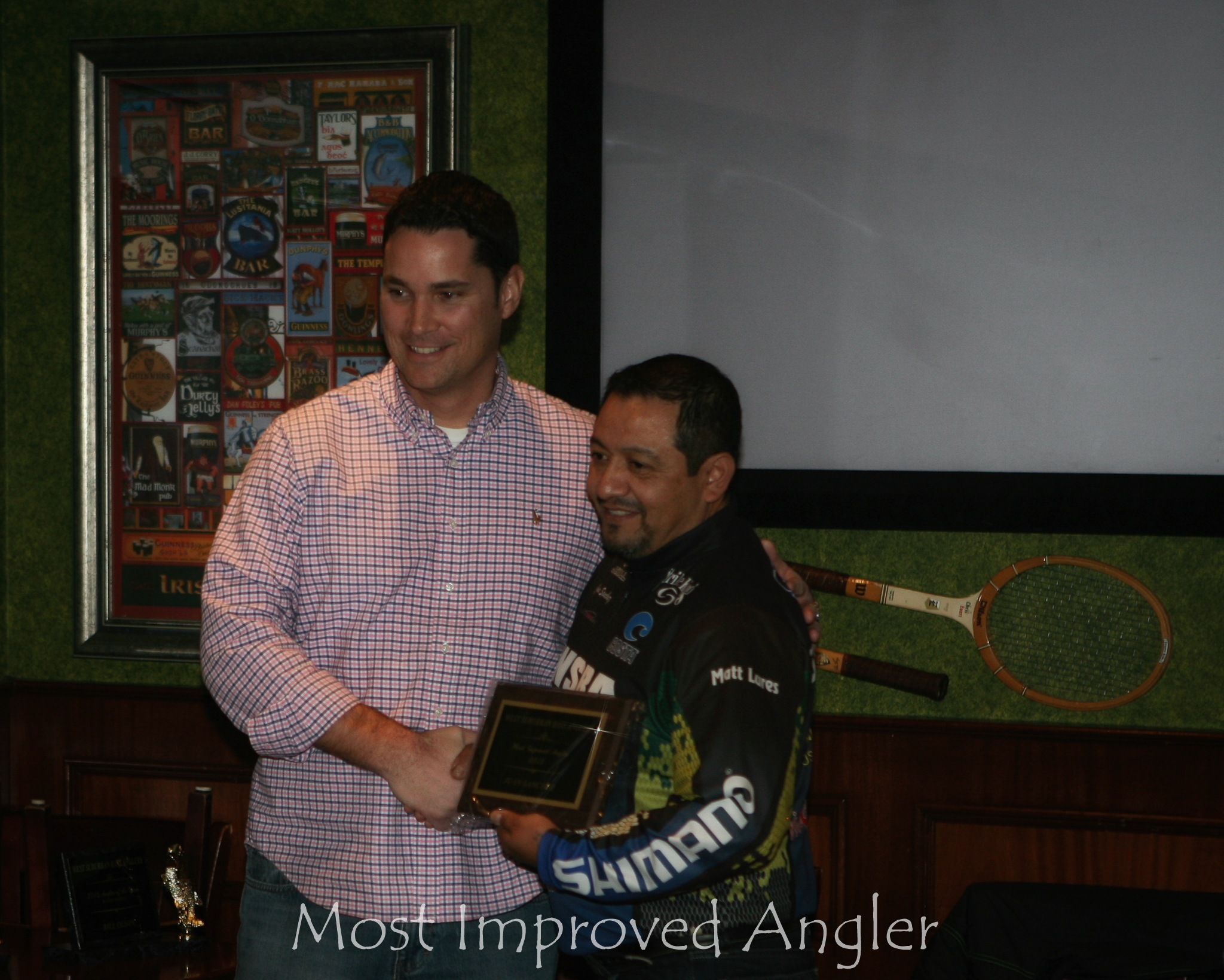 most improved angler