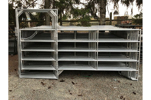 Galvanized Light Duty Panel w/ walk through Gate-PLEASE CALL TO ORDER