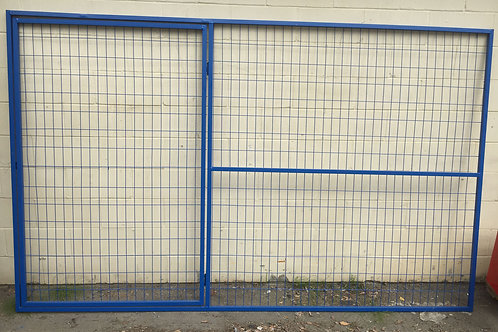 Temporary Panel with walk through gate 6' x 9.5'