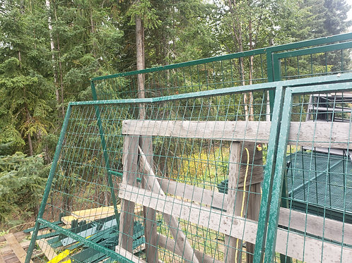 Light Duty Temporary panel with Gate