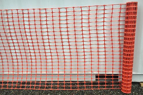High Visibility Orange Plastic Safety Fence 4' x 100'