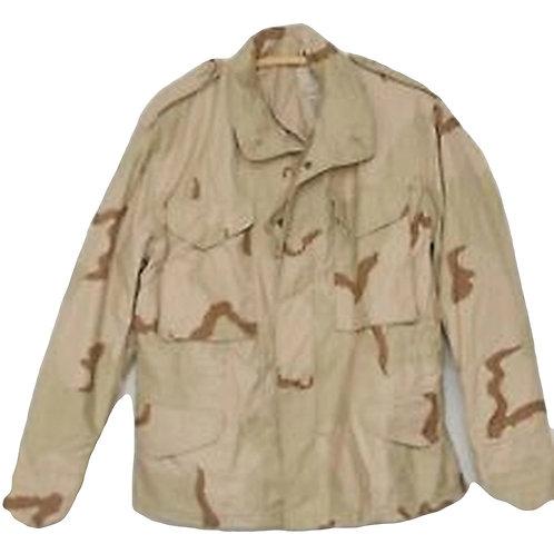 US Army Surplus 3 Color M-65 Combat Jacket