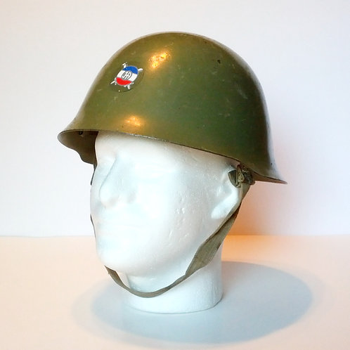 Serbian Army M59/85 Helmet With JA Decal