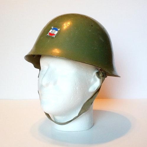 Serbian Army M59/85 Helmet With JA Decal