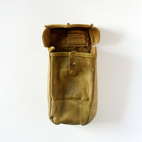 Canadian Army Surplus WW2 Sten Ammo Pouch-Used