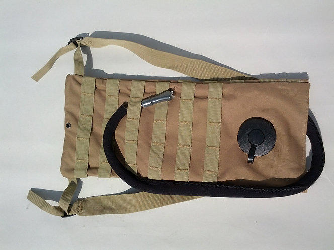 Coyote Tan Molle Hydration Pack 3L