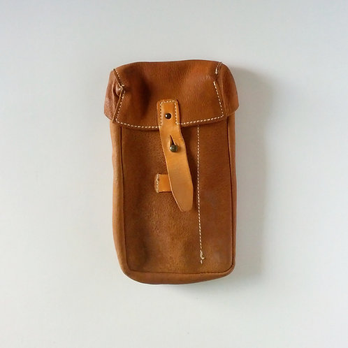 Czech Army Surplus Leather Mag Pouch