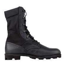US Army Surplus Black Jungle Boots-Like New