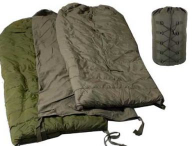 Canadian Army Surplus Arctic Extreme Cold Weather Sleepingbag G2condition)