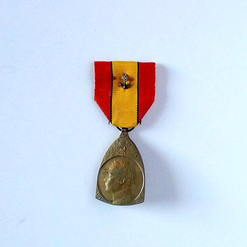 Belgian 1914-18 WW 1 Commemorative Medal
