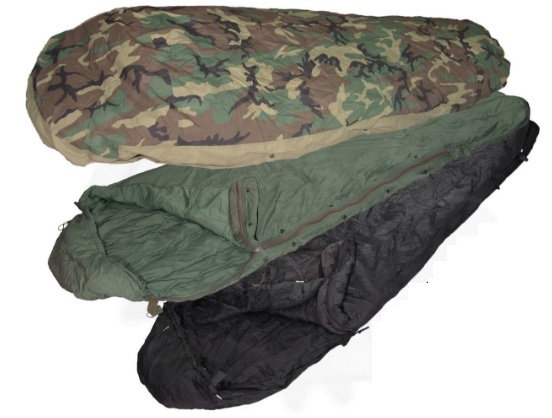 US Army Surplus Modular Sleep System (MSS) - Bivvy Bag Included