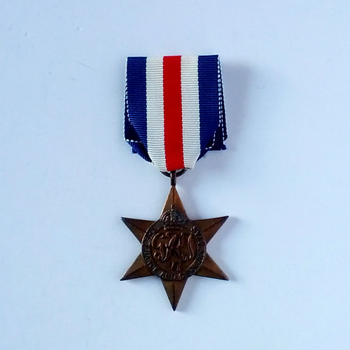 Canadian WWII France And Germany Star Medal