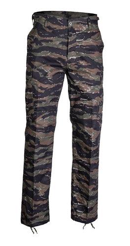 Asian Tiger Stripe BDU Style Pants-New