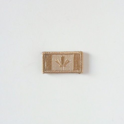 Canadian Desert Velcro Flag Patch-Small