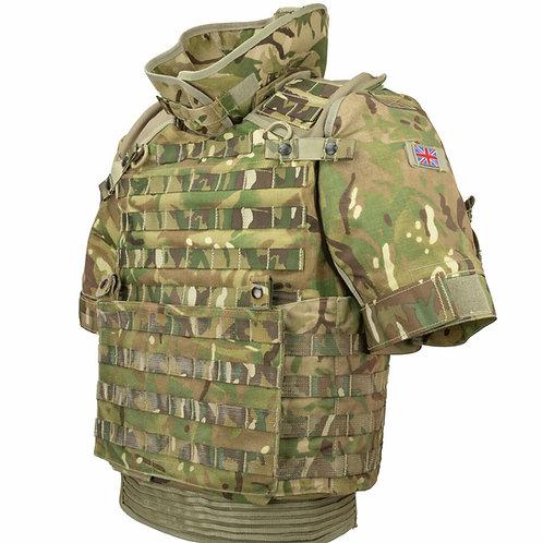 British Army Surplus MK4 Osprey Multicam Plate Carrier Vest only- No Kevlar