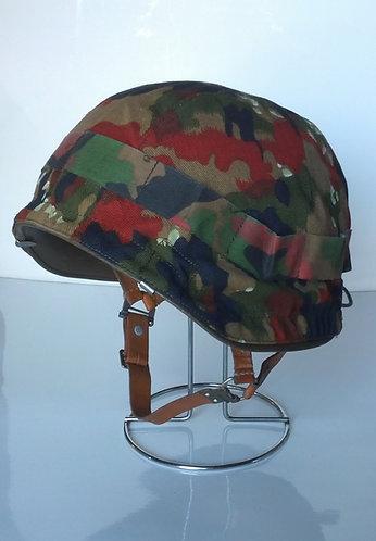 Swiss Army Surplus M71 w/ Alpenflage Helmet Cover