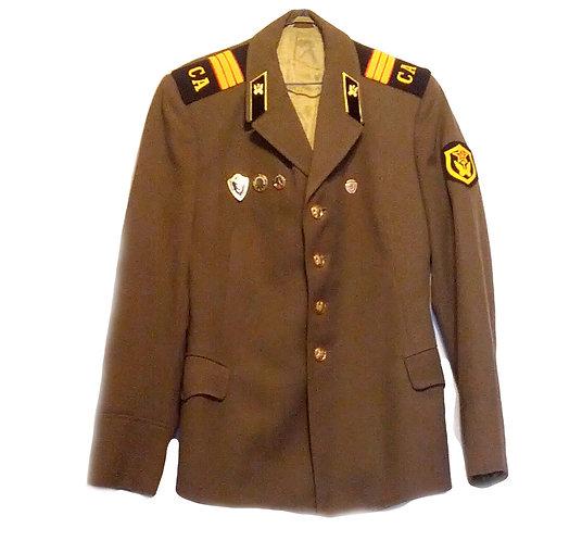 Soviet Army Officer's Uniform Jacket With Regalia