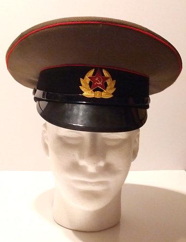 Soviet Army Surplus Visor Cap