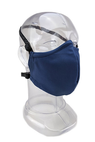 Reusable Postman Blue 2 or 3 Ply Fabric Face Mask