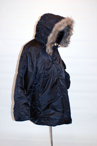 Black US Army Style N3B Cold Weather Parka