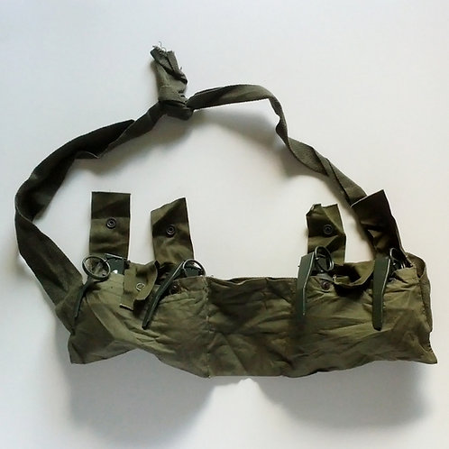 U S Army Surplus Veitnam Era M79 6 Pocket Grenade Bandolier