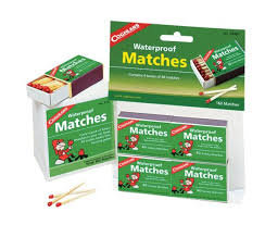 Coghlan's Waterproof Matches - 160 Matches